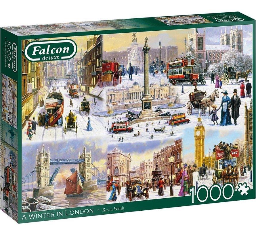 A Winter in London Puzzel 1000 Stukjes