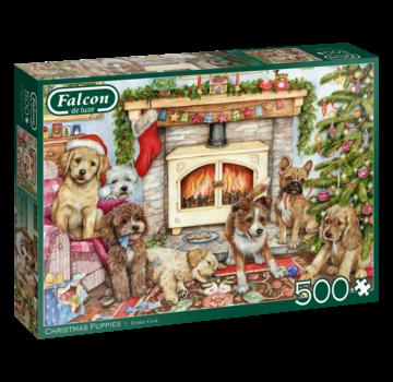 Falcon Chiots Noël Puzzle 500 Pièces