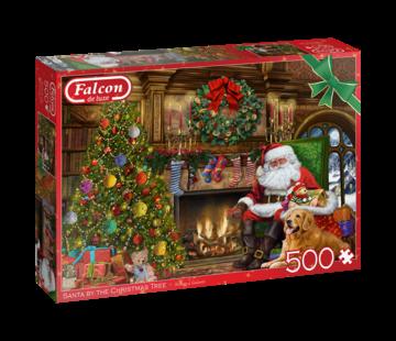 Falcon Santa by the Fireplace Puzzel 500 Stukjes