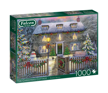 Falcon The Christmas Cottage Puzzel 1000 Stukjes