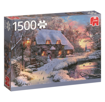 Falcon Hiver Maison Puzzle 1500 Pièces