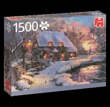 Falcon Winter House Puzzle 1500 Pieces