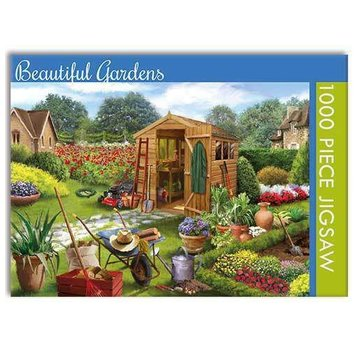 The Gifted Stationary Beautiful Gardens 1000 Puzzle Pieces