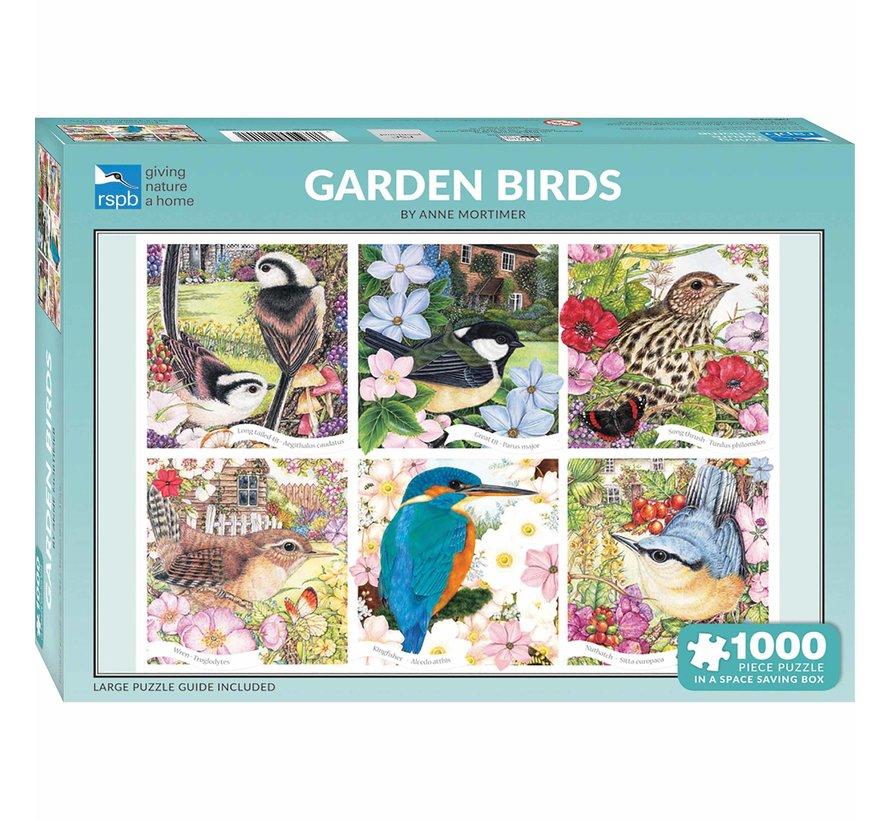 Garden Birds Puzzel 1000 Stukjes