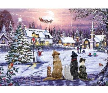 Otterhouse Christmas Eve Puzzel 1000 Stukjes