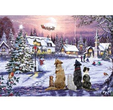 Otterhouse Christmas Eve 1000 Puzzle Pieces