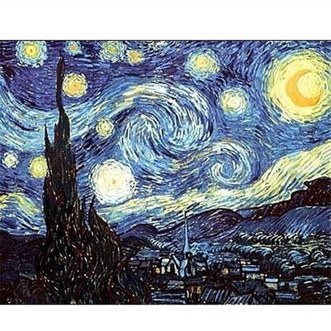 Dtoys Van Gogh Starry Night Puzzle 1000 Stück