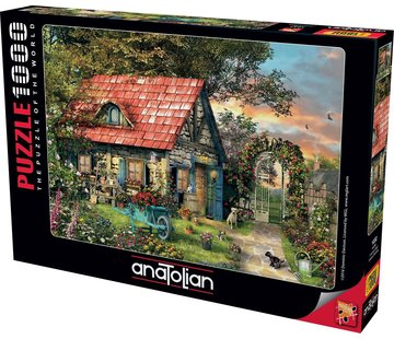 Anatolian Country Shed 1000 Puzzle Pieces
