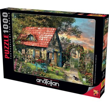 Anatolian Pays Shed 1000 Puzzle Pieces