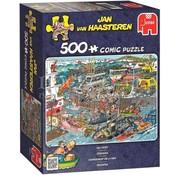 Jumbo Jan van Haasteren - Seaport 500 Puzzle Pieces