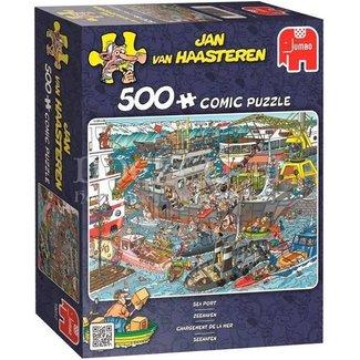 Jan van Haasteren Jan van Haasteren – Zeehaven Puzzel 500 Stukjes