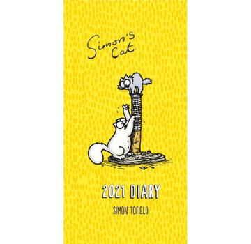 Portico Pocket Diary Cat Simon 2021