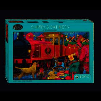 Otterhouse Santa's Express Puzzel 1000 Stukjes