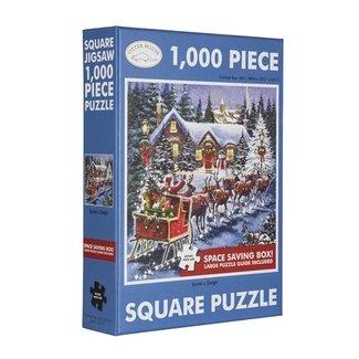 Otterhouse Santa's Sleigh Puzzel 1000 Stukjes