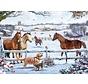 Christmas On The Farm Puzzel 1000 Stukjes