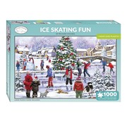Otterhouse Ice Skating Fun Puzzle 1000 Pieces