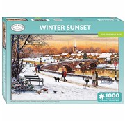 Otterhouse Winter 1000 Sunset Puzzle Pieces