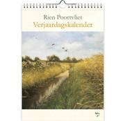 Comello Rien Poortvliet Nature A4 Birthday Calendar
