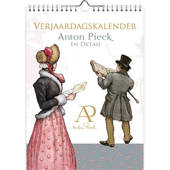 Anton Pieck im Detail Geburtstagskalender