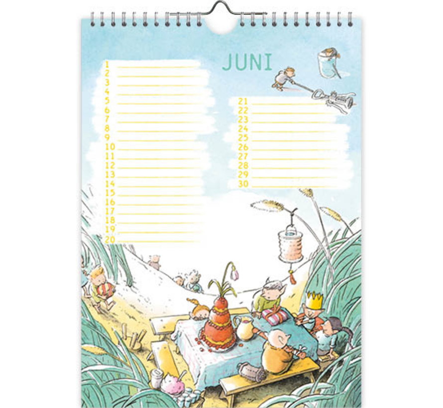 De Gorgels Verjaardagskalender