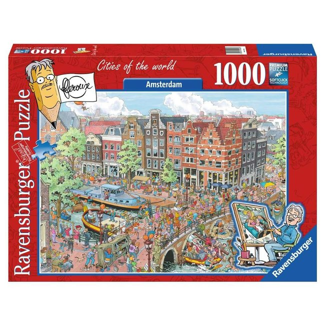 Ravensburger Fleroux Amsterdam Puzzel 1000 Stukjes