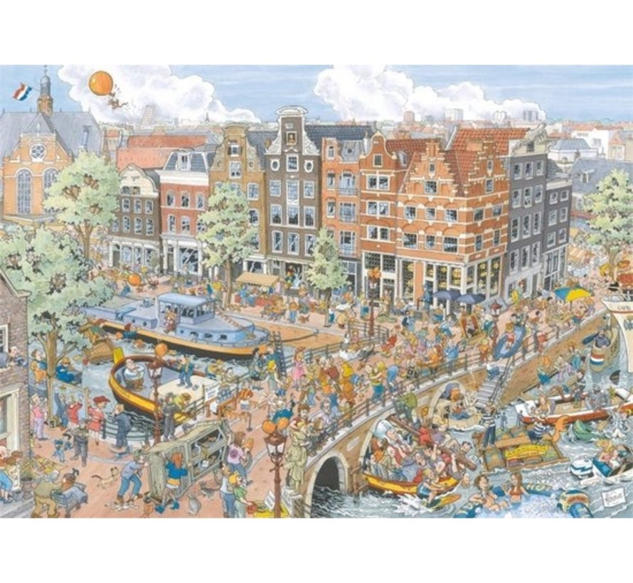 Fleroux Amsterdam Puzzel 1000 Stukjes