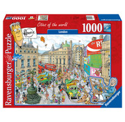 Ravensburger Fleroux London 1000 Puzzle Pieces