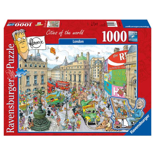 Ravensburger Fleroux London Puzzel 1000 Stukjes