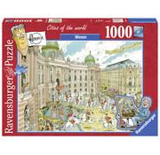 Ravensburger Fleroux Wenen Puzzel 1000 Stukjes