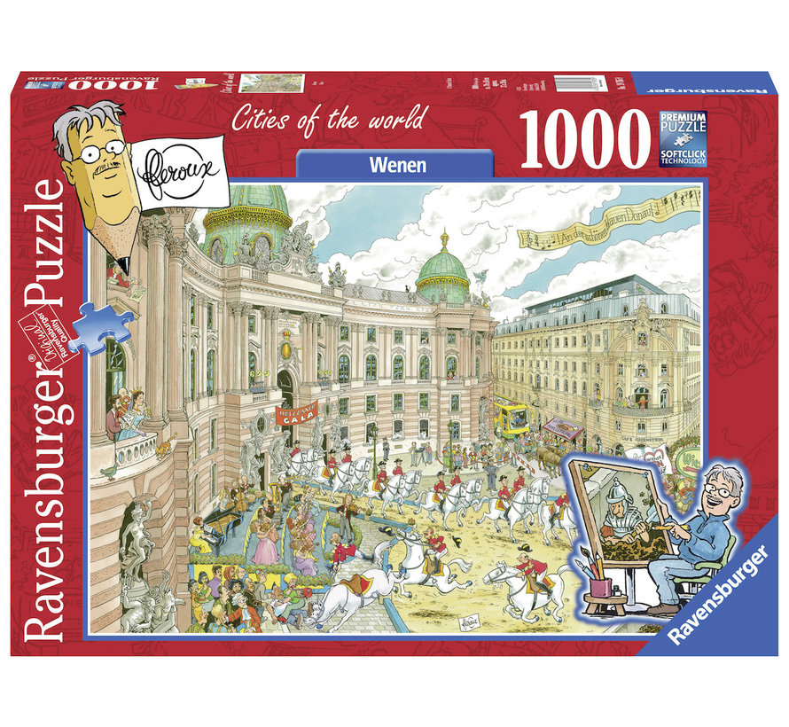 Fleroux Wenen Puzzel 1000 Stukjes