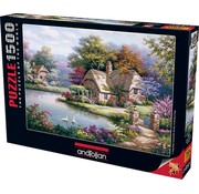 Anatolian The Swan Cottage 1500 Puzzleteile