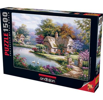 Anatolian The Swan Cottage 1500 Puzzle Pieces