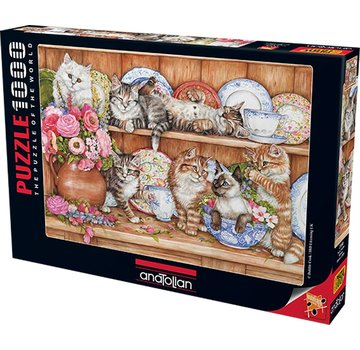 Anatolian Puzzle 1000 Pièces Kittens