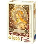 Dtoys Alphonse Mucha 1000 Puzzle Pieces Sternzeichen