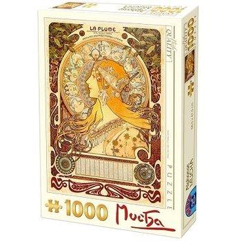 Dtoys Alphonse Mucha Puzzel 1000 Stukjes Sternzeichen