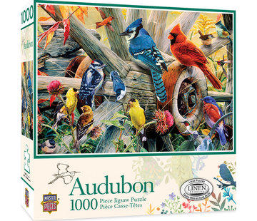 Master Pieces Backyard Birds Puzzel 1000 Stukjes