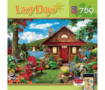 Master Pieces Lazy Days - Waterfront Puzzel 750 Stukjes