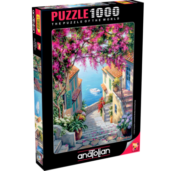 Anatolian Stairs To The Sea Puzzle 1000 Pieces