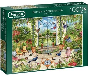 Falcon Butterfly Conservatory 1000 Puzzle Pieces