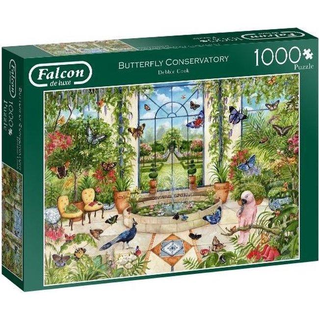 Butterfly Conservatory Puzzel 1000 Stukjes