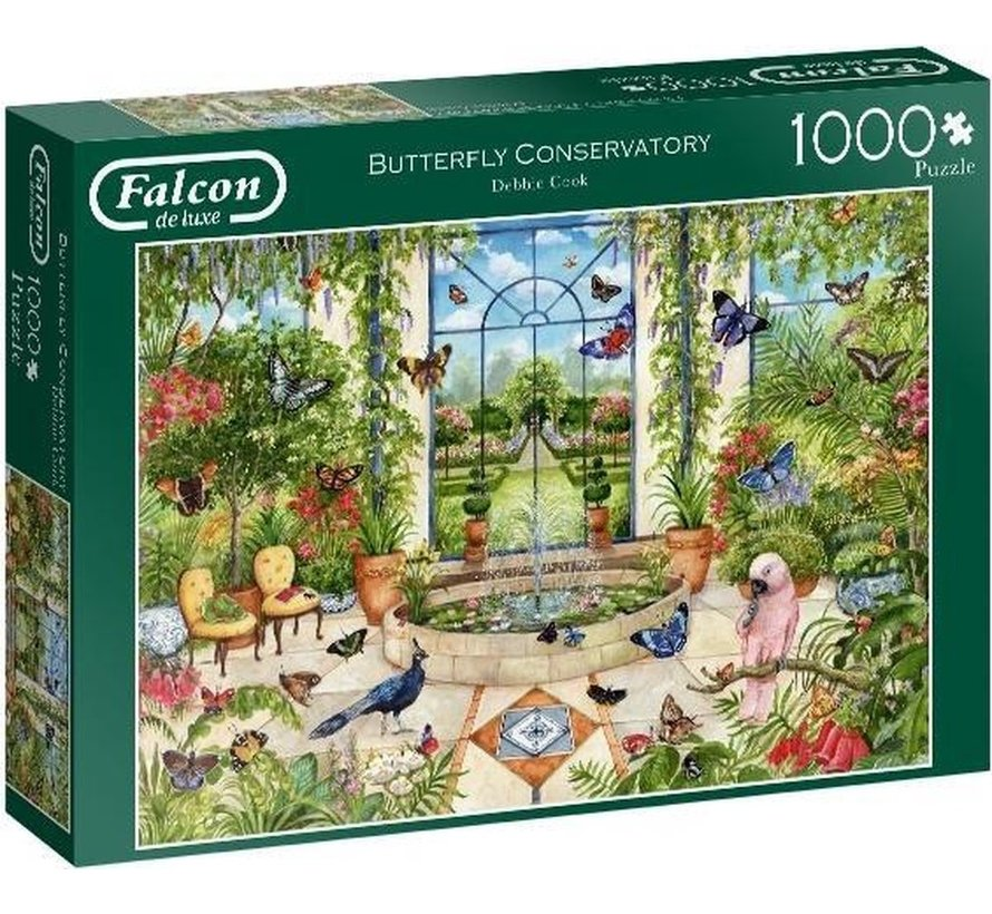 Butterfly Conservatory 1000 Puzzle Pieces