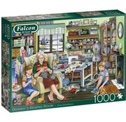 Falcon Granny's Sewing Room 1000 Puzzle Pieces