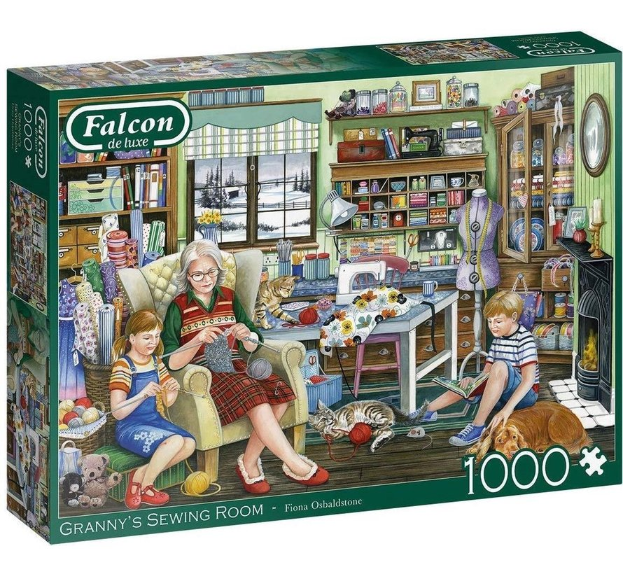 Granny's Sewing Room Puzzel 1000 Stukjes