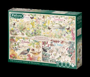 Falcon The Country Diary 4 Seasons Puzzel 1000 Stukjes