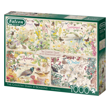 Falcon The Country Diary 4 Seasons Puzzel 1000 Stukjes