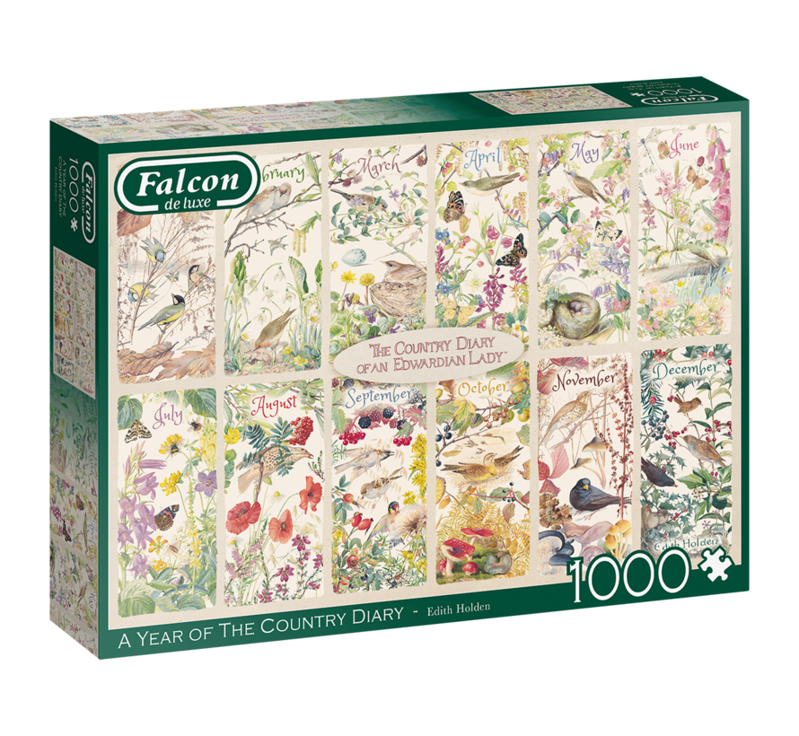 A Year of the Country Diary Puzzel 1000 Stukjes