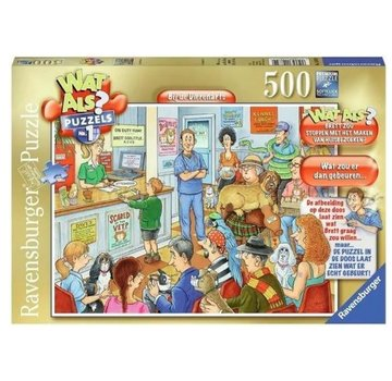 Ravensburger What if? - At the Veterinarian Puzzle pieces 500