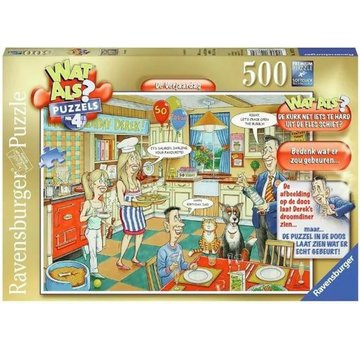 Ravensburger Wat Als? - De Verjaardag Puzzel 500 Stukjes