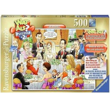 Ravensburger Wat Als? - De Bruiloft Puzzel 500 Stukjes
