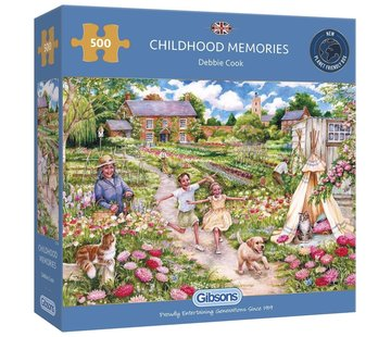 Gibsons Childhood Memories Puzzle 500 Pieces